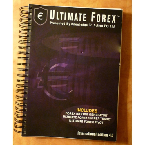 Knowledge to action - ultimate forex manual